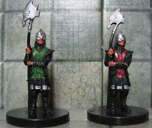 Repainted town guard