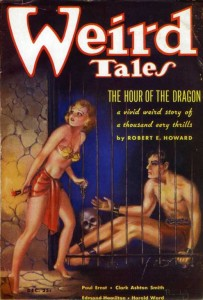 Weird Tales 1935 -The Hour of the Dragon