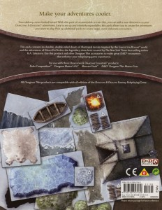 DN1 Caverns of Icewind Dale back cover