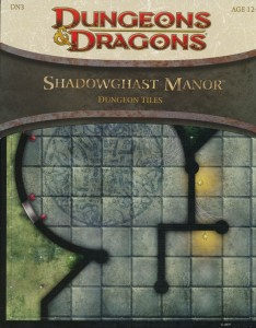 DN3 Shadowghast Manor front cover