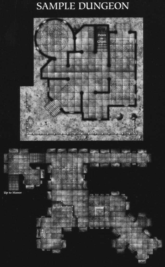 DN3 Shadowghast Manor sample dungeon