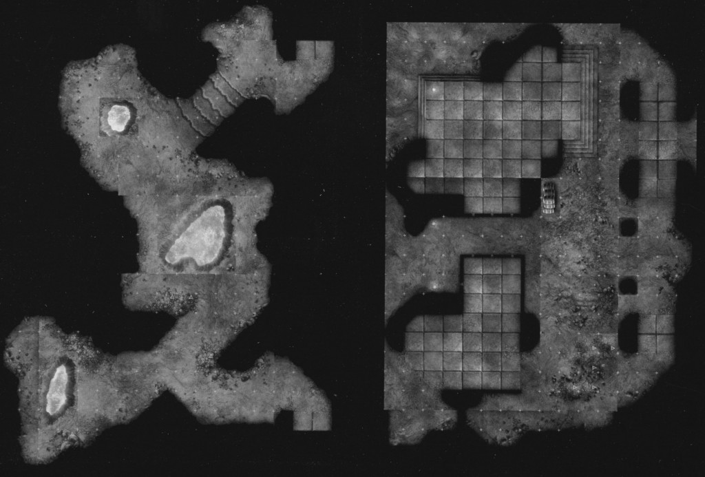 DN5 Urban Underdark sample dungeon
