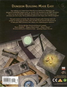 DT1 Dungeon Tiles back cover