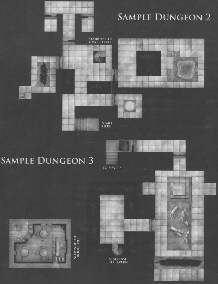 DT1 Dungeon Tiles Sample 2 & 3