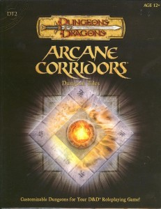 DT2 Arcane Corridors front cover