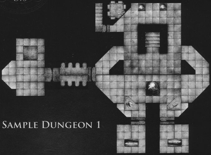 DT3 Hidden Crypts sample dungeon 1