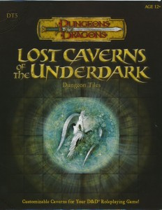 DT5 Lost Caverns of the Underdark front cover