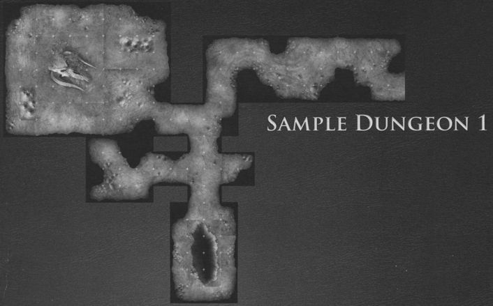 DT5 Lost Caverns of the Underdark sample dungeon 1
