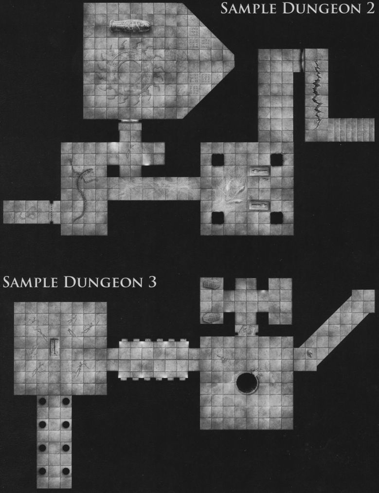 DT6 Dire Tombs sample dungeon 2 & 3