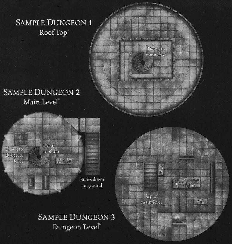 DU4 Arcane Towers sample dungeon