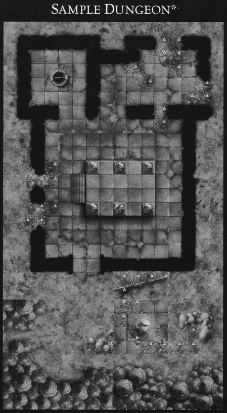 DU5 Sinister Woods sample dungeon