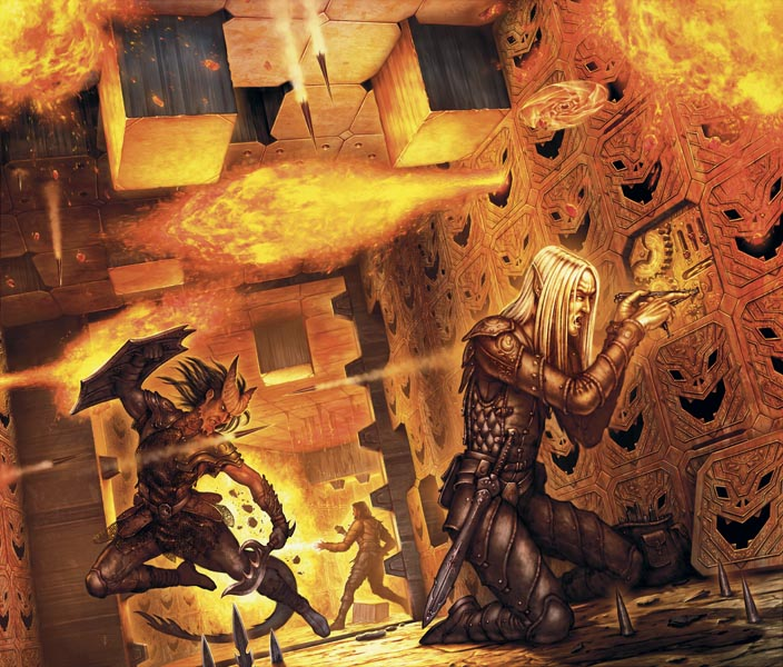 Traps in 4E D&D become an ongoing peril