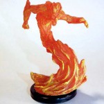 Fire Elemental Pathfinder Battles miniature