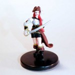 Tessa Fairwind Pathfinder Battles miniature