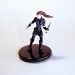 Tower Girl Pathfinder Battles miniature