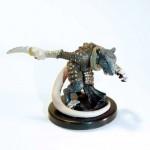 Wererat Pathfinder Battles miniature