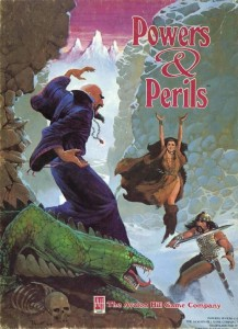Powers & Perils, one of Avalon Hill's RPGs from 1983