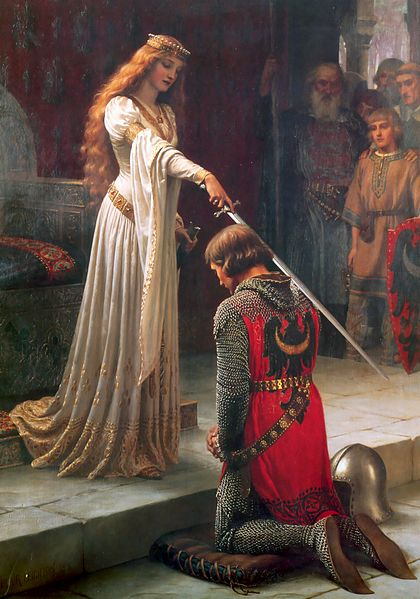Accolade by Edmund Blair Leighton