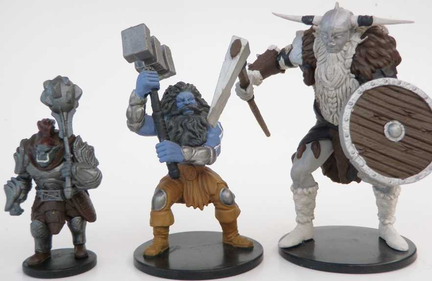 Orog, Storm Giant, and Frost Giant