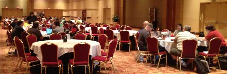 I've learned a lot about game mastering in rooms like this at Origins