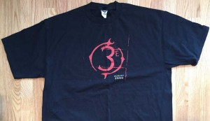 3E edition launch shirt