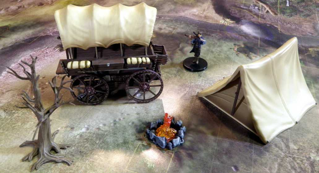 Campsite from Tabletop Props on a battle map